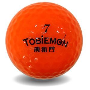 ゴルフボール TOBIEMON-飛衛門-蛍光ゴルフボール12個入/飛衛門ネオンボール|toku109shop