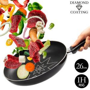 ●商品名 ダイヤモンドコーティングフライパン ダイヤボーノ 26cm ●型 番 F-1087 ●JA...