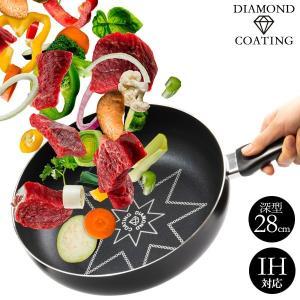 ●商品名 ダイヤモンドコーティングフライパン ダイヤボーノ 28cm ●型 番 F-1088 ●JA...