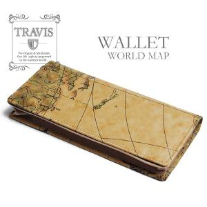 9f402d81cb6f TRAVIS-トラヴィス 世界地図柄の長財布、ラウンドロングウォレットが登場!