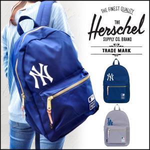 HERSCHEL ハーシェル メジャーリーグ MLBコラボバッグ リュックサック 通学 ドジャース ヤンキース/HERSCHELリュック|toku109shop