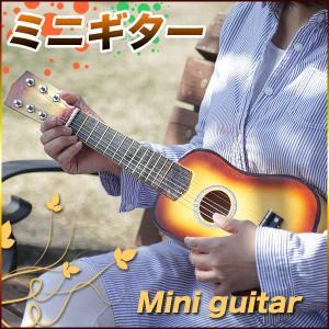 小型アコースティックギター ピック スペア弦付 ミニギター ギター / ミニギター|toku109shop