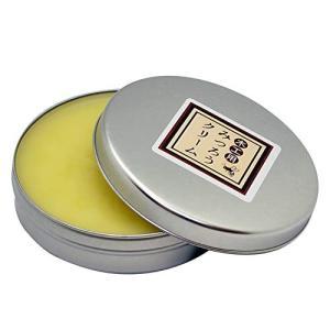 天然 国産 木工用みつろうクリーム 60g 蜜蝋 無垢材 革製品やテーブル、フローリングに メール便発送 送料無料/みつろうクリーム