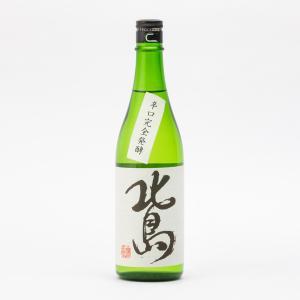 北島 純米吟醸 完全発酵辛口 玉栄55 火入 北島酒造 720ml 日本酒/滋賀県|tokuriya