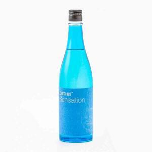 笑四季 Sensation 青ブルー 生 笑四季酒造 720ml 日本酒/滋賀県 【要冷蔵:4月から10月冷蔵便配送】|tokuriya