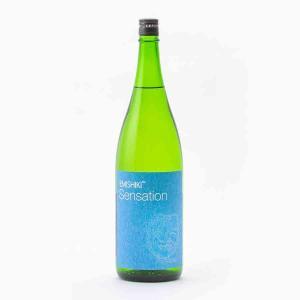 笑四季 Sensation 青ブルー 生 笑四季酒造 1.8L 1800ml 日本酒/滋賀 【要冷蔵:4月から10月冷蔵便配送】|tokuriya