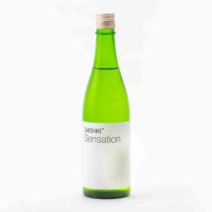 笑四季 Sensation 白ホワイト 火入 笑四季酒造 720m 日本酒/滋賀県 【要冷蔵:4月から10月冷蔵便配送】|tokuriya