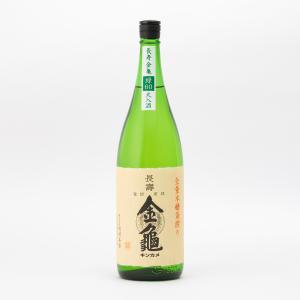長寿金亀 緑60 純米吟醸 火入 岡村本家 1.8L 1800ml 日本酒/滋賀県|tokuriya