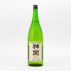 神開 純米 ひげラベル 火入 藤本酒造 1.8L 1800ml 日本酒/滋賀県|tokuriya