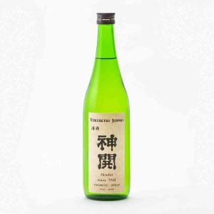 神開 純米 ひげラベル 火入 藤本酒造 720ml 日本酒/滋賀県|tokuriya