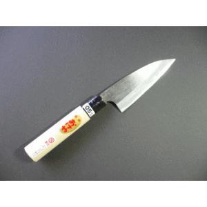 おけや アジ切り包丁(磨き仕上げ)105mm両刃|tokusan55