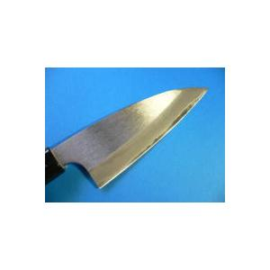 おけや アジ切り包丁(磨き仕上げ)105mm両刃 tokusan55 02