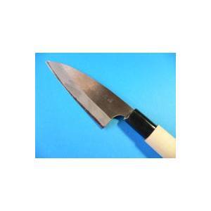 おけや アジ切り包丁(磨き仕上げ)105mm両刃 tokusan55 03