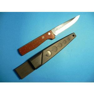 フィッシングナイフ (ステンレス刃) 110mm 両刃 P318 tokusan55