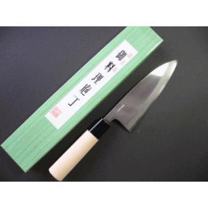 播州三木 出刃包丁 150mm TD401A|tokusan55