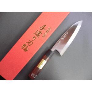ステンレスゴールド 出刃包丁 165mm「三木特撰上作」 TD406A|tokusan55