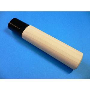 差込式 包丁の柄(先プラスチック) 出刃包丁150mm(5寸)以下用 (小)|tokusan55
