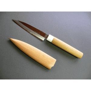 サヤ入り フルーツ(果物)ナイフ 98mm|tokusan55