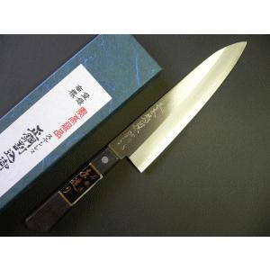 ステンレスゴールド牛刀 190mm「三木特撰」 TG103A|tokusan55