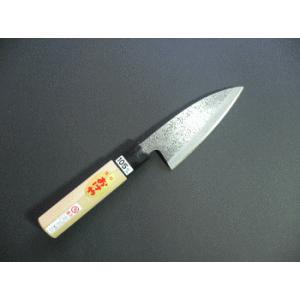 おけや 小出刃包丁(ツチ目)片刃 105mm|tokusan55