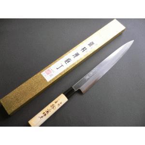 霞(カスミ)仕上刺身包丁(正夫・柳刃包丁)240mm「三木特撰」TS502C|tokusan55