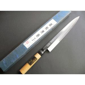 本職用青鋼刺身包丁(正夫・柳刃包丁)270mm「三木特撰別打」TS504C|tokusan55