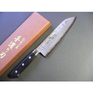 多層鋼ステンレス三徳包丁165mm 口金付 「播州三木上作」 TT107A|tokusan55
