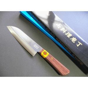 スリーエス実用三徳包丁(ステンレス・正鋼割込)140mm TT100B|tokusan55