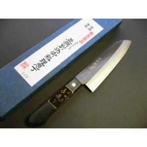 三徳包丁(ステンレスゴールド割込) 165mm「三木特撰」 TT103A|tokusan55