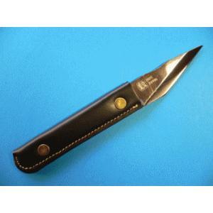 名匠一刀流作 切出ナイフS型 レザータイプ 片刃KL-1|tokusan55