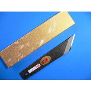 おけや 鰻(うなぎ)裂小刀 関西型黒打 巾30mm tokusan55
