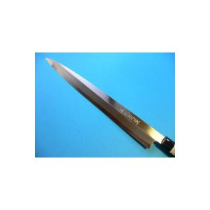 霞仕上(カスミ)刺身包丁(正夫・柳刃包丁)左利き用 240mm「三木特撰」 TN502B|tokusan55|02