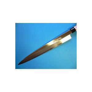 霞仕上(カスミ)刺身包丁(正夫・柳刃包丁)左利き用 240mm「三木特撰」 TN502B|tokusan55|03