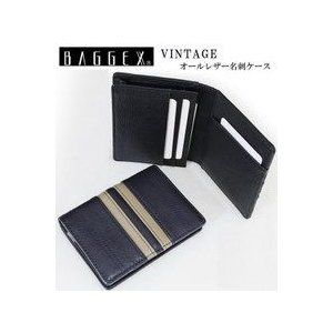 BAGGEX VINTAGE/ バジェックス ヴィンテージの牛革製名刺ケース 13-6008|tokusenya