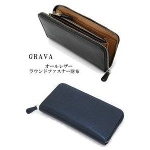 BAGGEX GRAVA/バジェックス グラーバ 牛革製 ラウンドファスナー束入れ 13-6024|tokusenya
