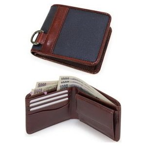 BAGGEX LYON/ バジェックス リヨン  二つ折り財布 13-6049|tokusenya