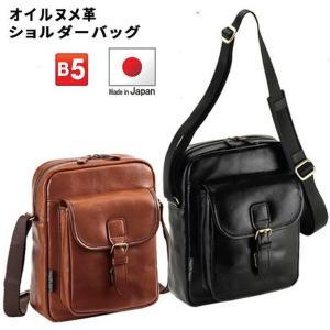BLAZERCLUB/ブレザークラブ 本革 レザー ショルダーバッグ メンズ B5 【平野鞄】16342|tokusenya