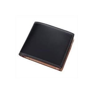 ヒデオ ワカマツ コードバン 二つ折り財布 85-56311|tokusenya