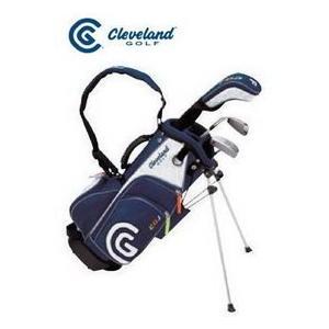 クリーブランド/CleveLand ジュニア用3本ゴルフクラブセットキャディバッグ付 tokusenya