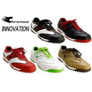 クロマックス/CHROMAX INNOVATION スパイクレス ゴルフシューズ CRM-3003 tokusenya