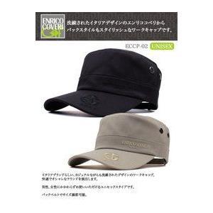 エンリコ・コベリ/ENRICO COVERI  ゴルフウェア ワークキャップ ECCP-02 tokusenya