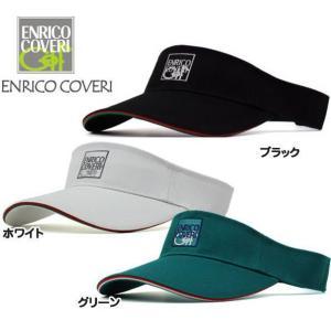 エンリコ・コベリ/ENRICO COVERI  ゴルフウェア サンバイザー ECSV-01 tokusenya