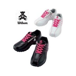 ウイルソンベアー/Wilson Bearスパイクレス レディースゴルフシューズ WBS-1411|tokusenya