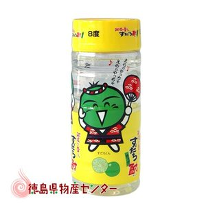 すだち酎200mlすだちくんラベルワンカップ(日新酒類 徳島の地酒 焼酎)|tokushima-shop
