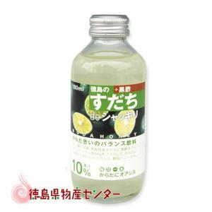すだちdeシャッキリ ミニ180ml(ストレートジュース飲料)※箱なし|tokushima-shop