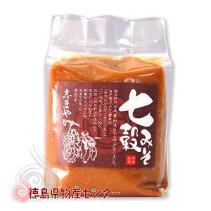 七穀みそ500g【志まやの健康自然味噌】|tokushima-shop