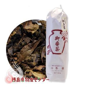 相生番茶 60g(徳島県相生地域産の阿波番茶)|tokushima-shop