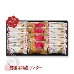 徳島郷菓 ポテレット&マンマローザの詰合せPM-2(徳島洋菓子クラブ イルローザ)|tokushima-shop