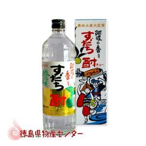 すだち酎300ml(徳島の地酒)阿波の香りスダチ焼酎|tokushima-shop