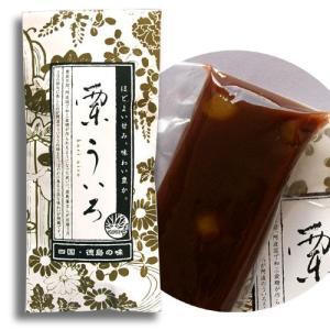 栗ういろ(四国・徳島の銘菓!栗尾商店の阿波ういろ)|tokushima-shop